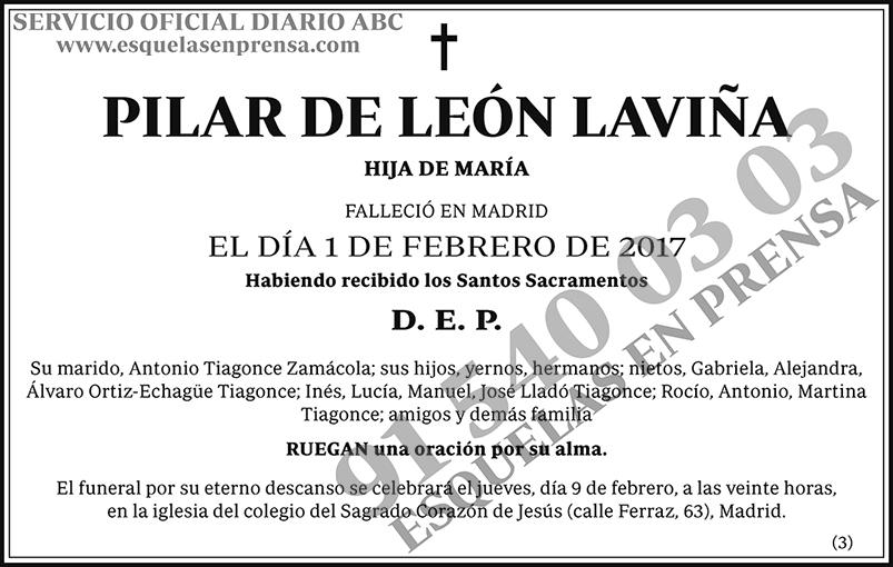 Pilar de León Laviña